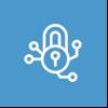 Permission Icon on Blue